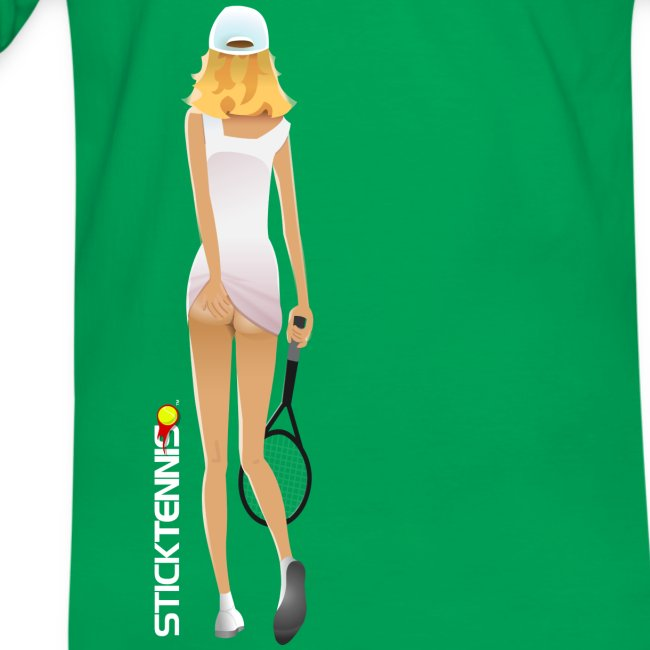 Stick Tennis Girl