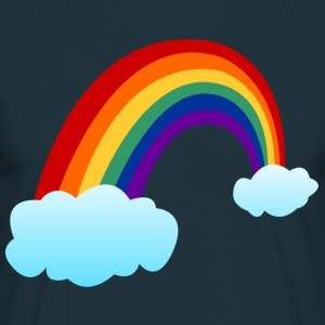 Rainbow clouds  T-Shirts - Men's T-Shirt