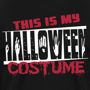 This is my halloween costume T-shirts - Mannen Premium T-shirt