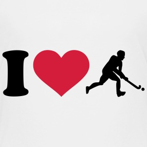 I love Hockey T-Shirts - Kinder Premium T-Shirt