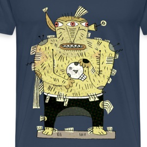 The three eye monster t-shirt T-Shirts - Men's Premium T-Shirt