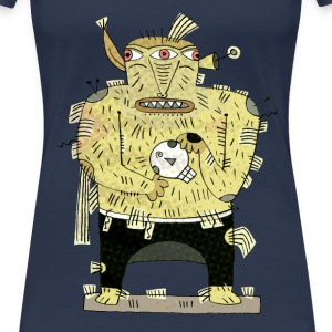 The three eye monster t-shirt T-Shirts - Women's Premium T-Shirt