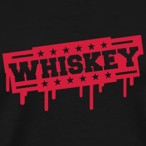 Whiskey Stamp T-Shirts - Men's Premium T-Shirt