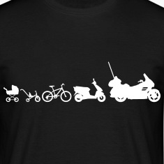 Evolution Goldwing motorcycle  T-Shirts