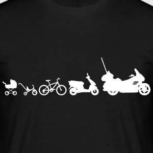 Evolution Goldwing motorcykel  T-shirts - Herre-T-shirt