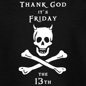 ~ Thank god it´s Friday 13th ~ T-Shirts - Teenager T-Shirt