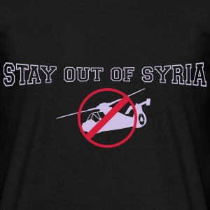 stay out of syria T-Shirts - Men's T-Shirt