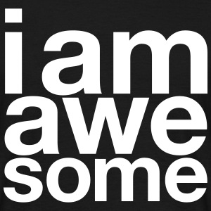 I AM Awesome T-skjorter - T-skjorte for menn