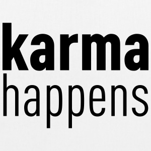 Karma Happens Bags & backpacks - EarthPositive Tote Bag