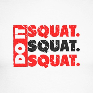 Do It. Squat.Squat.Squat | Vintage Style Camisetas de manga larga - Raglán manga larga hombre