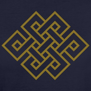 Tibetan endless knot, eternal, infinity, celtic T-Shirts - Women's Organic T-shirt