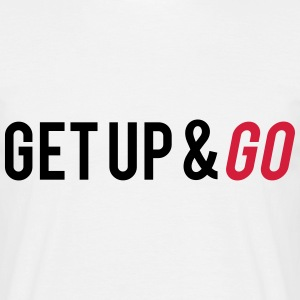 Get Up And Go Tee shirts - T-shirt Homme