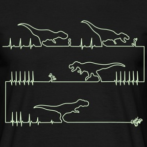 Dinosaur Attack T-Shirts - Men's T-Shirt