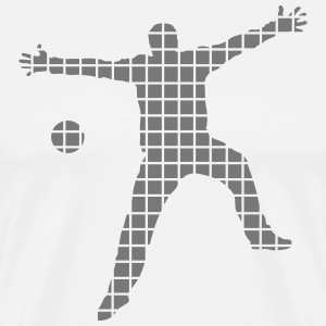 handball goalkeeper T-Shirts - Men's Premium T-Shirt
