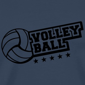 Volleyball Star Logo T-Shirts - Men's Premium T-Shirt
