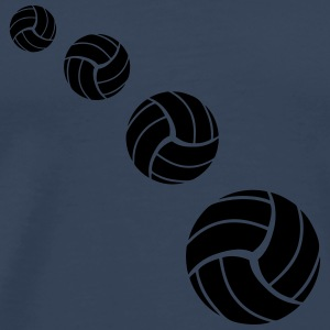Volleyball Pattern T-shirts - Premium-T-shirt herr