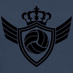 Volleyball Blazon T-Shirts - Men's Premium T-Shirt