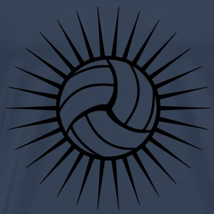 Volleyball Logo T-shirts - Herre premium T-shirt