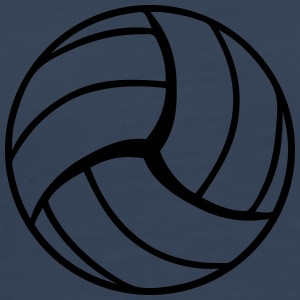 Volleyball Design T-shirts - Herre premium T-shirt