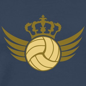 Volleyball Blazon Design T-Shirts - Männer Premium T-Shirt