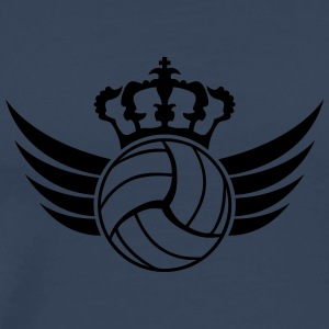 Volleyball Blazon Design T-shirts - Premium-T-shirt herr