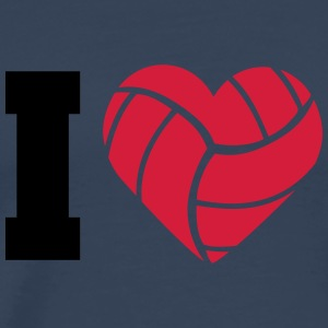I Love Volleyball T-Shirts - Männer Premium T-Shirt