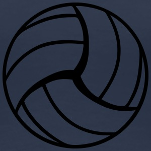 Volleyball Design T-shirts - Premium-T-shirt dam