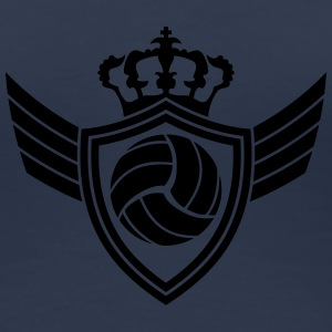 Volleyball Blazon T-shirts - Premium-T-shirt dam