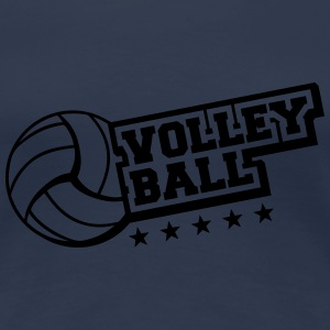 Volleyball Star Logo T-Shirts - Frauen Premium T-Shirt
