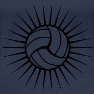 Volleyball Logo T-Shirts - Frauen Premium T-Shirt