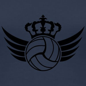 Volleyball Blazon Design T-Shirts - Frauen Premium T-Shirt