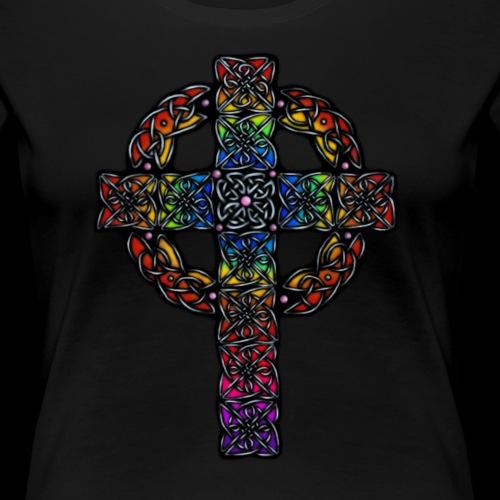 Celtic Cross - rainbow