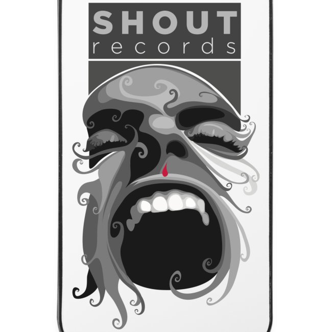 Shout Records iPhone 4/4S Hard Case