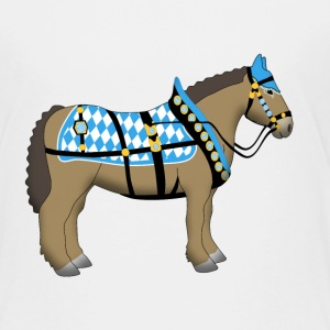 bavarian cold-blooded horse  Shirts - Kids' Premium T-Shirt