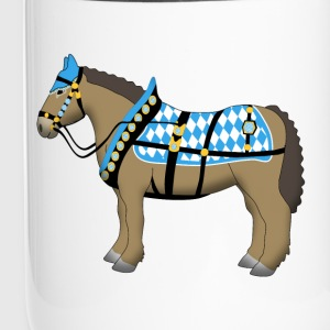 bavarian cold-blooded horse  Bottles & Mugs - Travel Mug