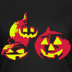 happy_halloween_092013_e_2c T-Shirts - Frauen T-Shirt