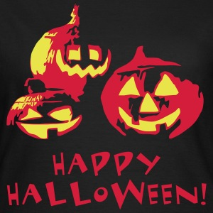 happy_halloween_092013_f_2c T-Shirts - Frauen T-Shirt