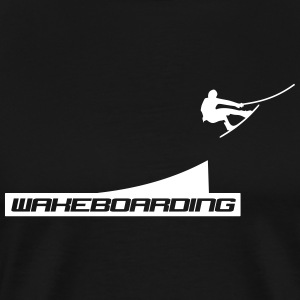 wakeboard,wakeboarder,cable,wakeboarding,sommer T-Shirts - Männer Premium T-Shirt