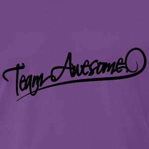 Team Awesome Camisetas - Camiseta premium hombre