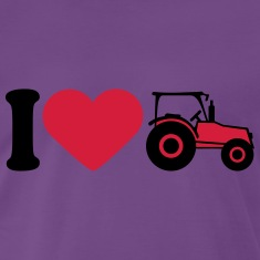 I Love Tractor T-Shirts