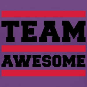 Team Awesome Camisetas - Camiseta premium mujer