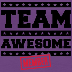 Team Awesome Member T-shirts - Premium-T-shirt dam