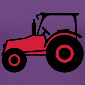 Tractor T-shirts - Dame premium T-shirt