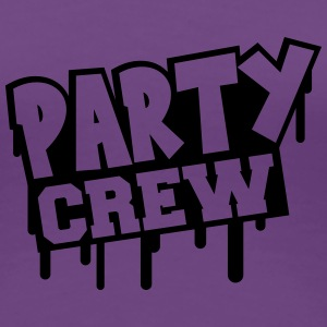 Party Crew Stamp T-Shirts - Women's Premium T-Shirt