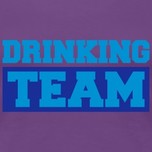 Drinking Team Logo T-Shirts - Frauen Premium T-Shirt