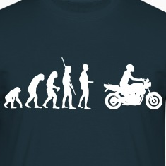 Evolution motorcycle naked bike  T-Shirts