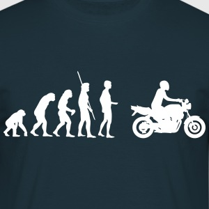 Evolution motorcycle naked bike  T-Shirts - Men's T-Shirt