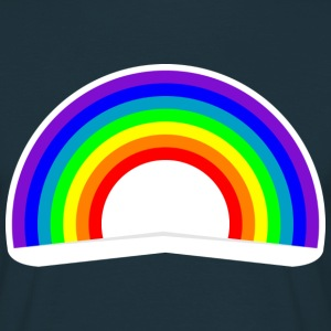 Colorful rainbow  Tee shirts - T-shirt Homme