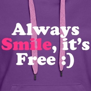Always Smile Gensere - Premium hettegenser for kvinner
