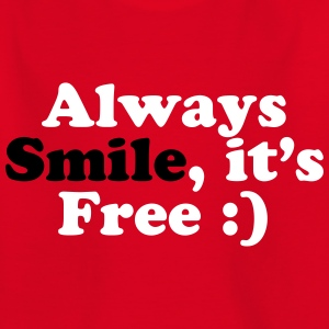 Always Smile Skjorter - T-skjorte for barn